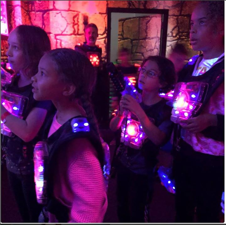 School is still out Bring the kids $15 Unlimited Laser Tag