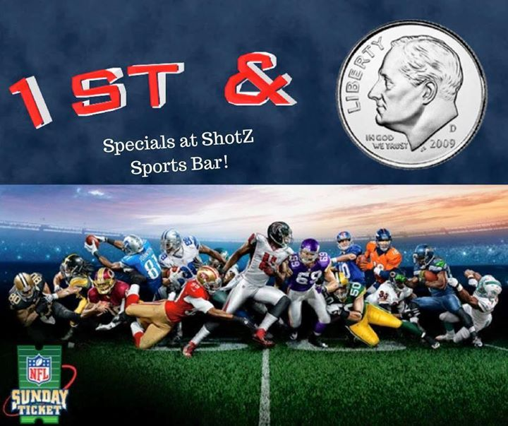 Watch Nfl Games At The Zone S Shotz Sports Bar Take