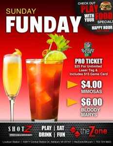 Our SUNDAY FUNDAY specials are why we have the best Sundays around! Don't Get…
