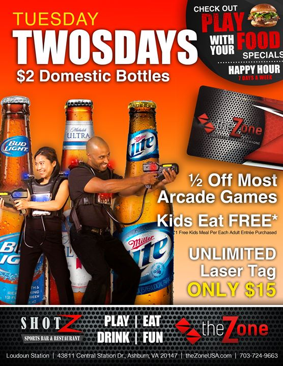 Twosdays The perfect excuse to get out on Tuesday and have some FUN! TWOSDAYS…